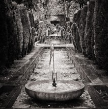 Schwarzweiss-Fotografie: Palma de Mallorca – S'Hort del Rei
