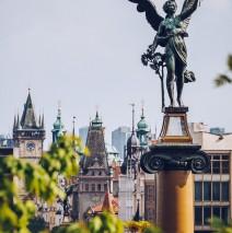 Prague Old Town Skyline