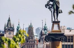 Skyline Prager Altstadt