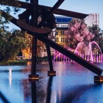 Berlin – Potsdamer Platz / Piano-See