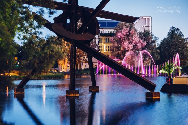 Berlin - Potsdamer Platz / Piano-See