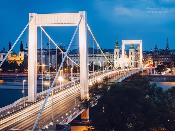 Budapest - Elisabethbrücke