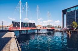 Kopenhagen – Cirkelbroen-Brücke
