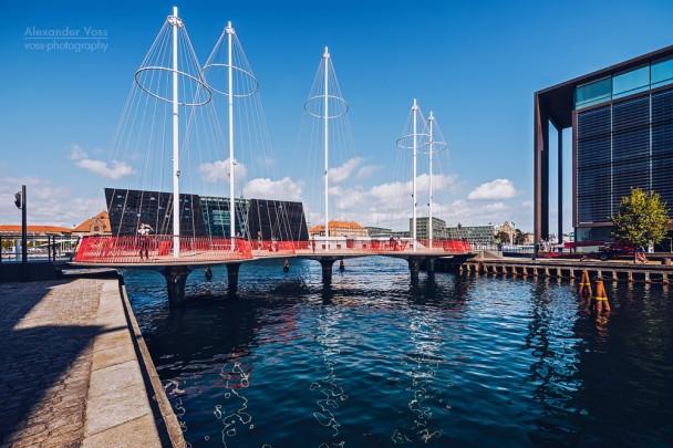 Kopenhagen - Cirkelbroen-Brücke
