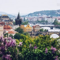 Prag – Blick vom Letná-Park