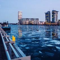 Berlin – Osthafen im Winter