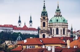 Prager Kleinseite – St.-Nikolaus-Kirche und Kloster Strahov