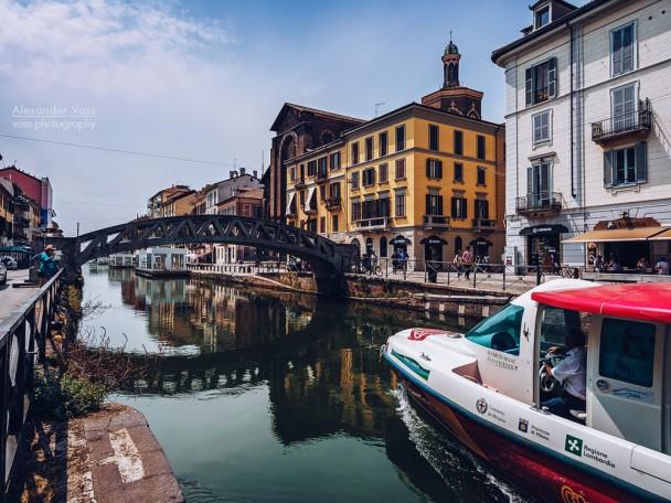 Mailand - Naviglio Grande