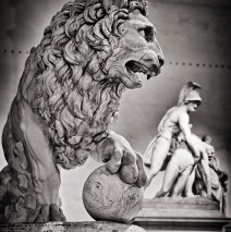 Black and White Photography: Florence – Loggia dei Lanzi