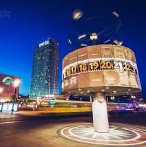 Berlin – Alexanderplatz / Weltzeituhr
