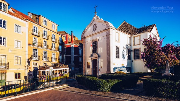Lissabon - Igreja de Santa Luzia