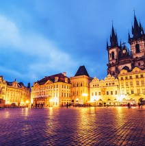 Prague – Old Town Square / Týn Church