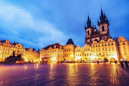 Prague – Old Town Square / Týn Church