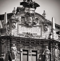 Black and White Photography: Budapest – New York Café