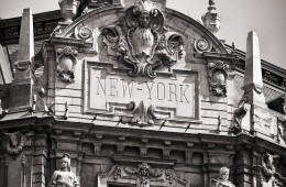 Black and White Photography: Budapest – New York Café