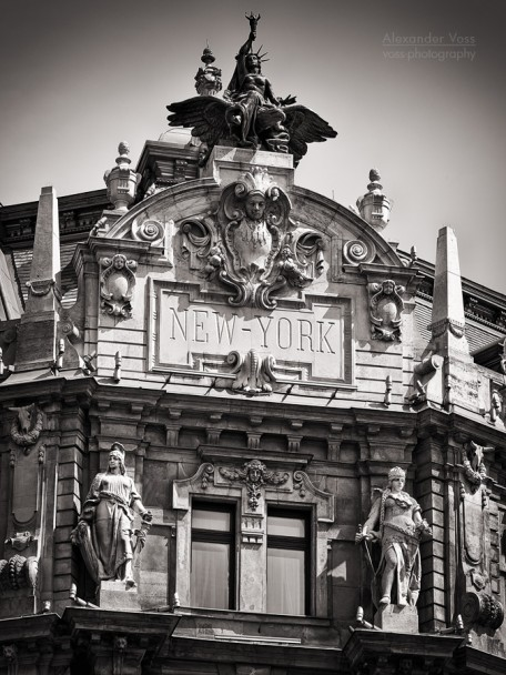 Schwarzweiss-Fotografie: Budapest - Café New York
