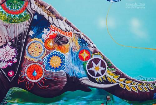 Berlin – Elephant Mural