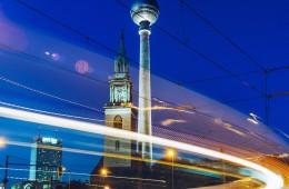 Berlin – Fernsehturm / Marienkirche