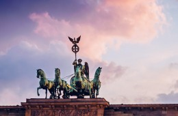 Berlin – Quadriga / Brandenburger Tor