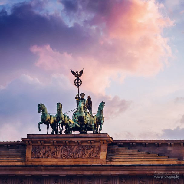 Berlin - Quadriga / Brandenburger Tor