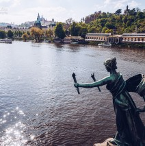Prague – Vltava River / Cechuv most