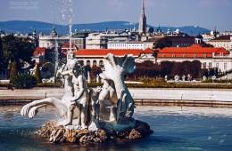 Wien – Schloss Belvedere / Schlossgarten