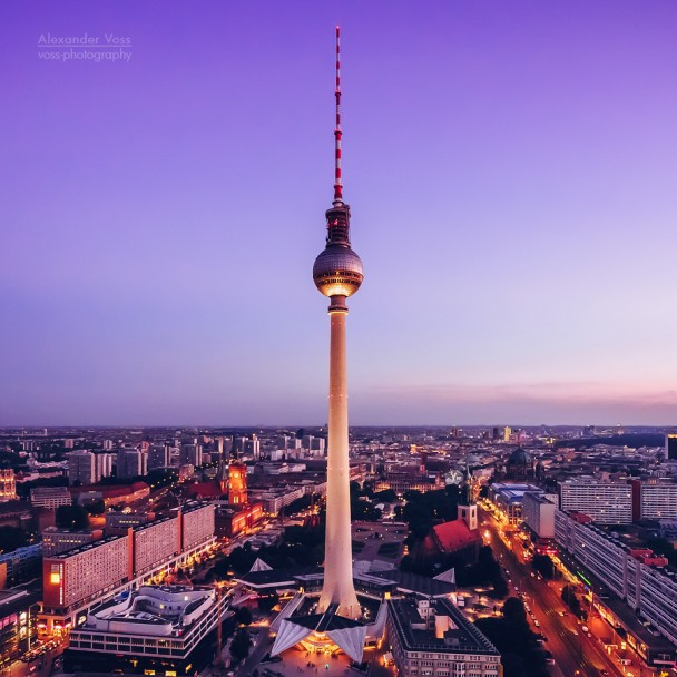 Berlin - Skyline / TV Tower
