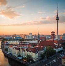 Berlin – Sunset Skyline