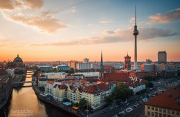 Berlin – Sunset Skyline