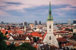 Bratislava Skyline / Martinsdom