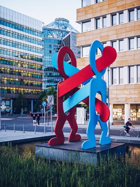Berlin - Keith Haring: Boxers