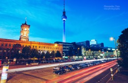 Berlin – Grunerstrasse / Rotes Rathaus