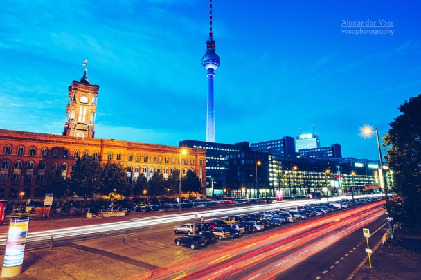 Berlin - Grunerstrasse / Rotes Rathaus