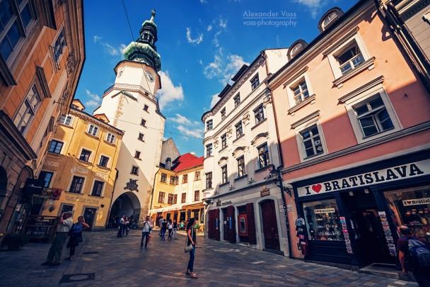 Bratislava - Michaelertor