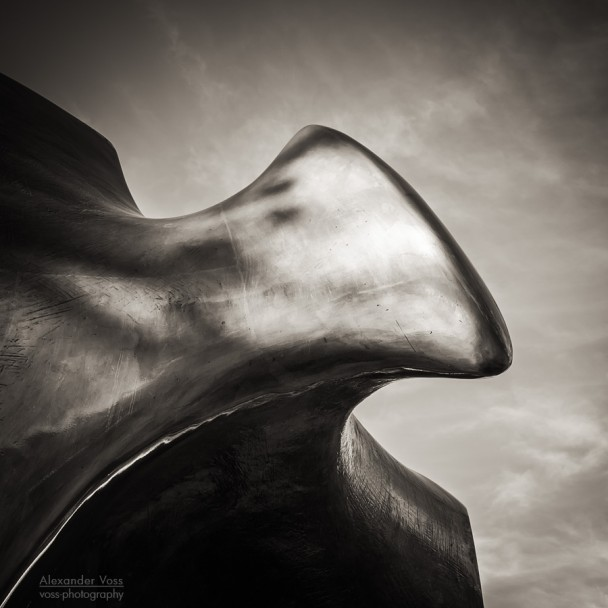 Black and White Photography: Henry Moore - The Archer