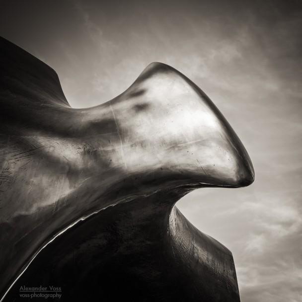 Schwarzweiss-Fotografie: Henry Moore - The Archer