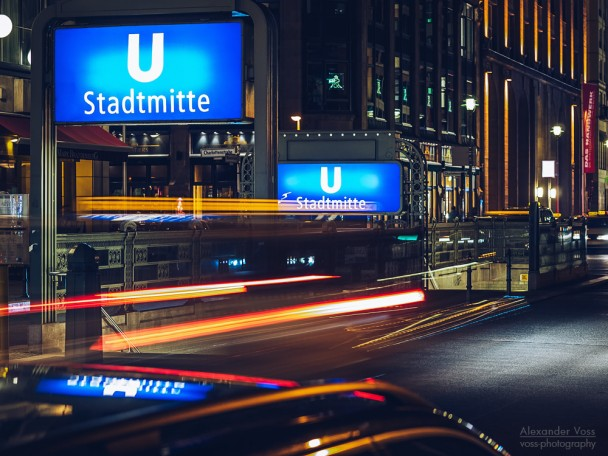 Berlin bei Nacht - Stadtmitte / Gendarmenmarkt