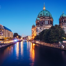 Berlin Cathedral / Spree River
