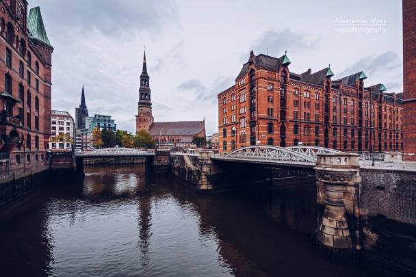 Hamburg - Speicherstadt / Katharinenkirche