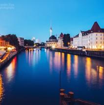 Berlin – Blick von der Weidendammer Brücke