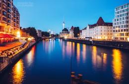 Berlin – View from Weidendamm Bridge