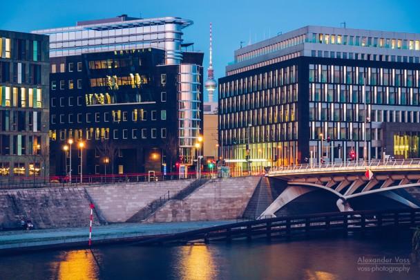 Berlin - Kapelle-Ufer / Kronprinzen Bridge