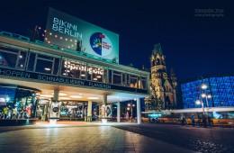 Bikini Berlin / Budapester Strasse at Night
