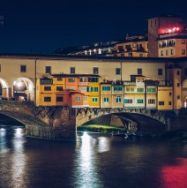 Florence – Ponte Vecchio at Night