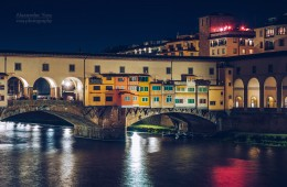 Florence – Ponte Vecchio at Night