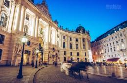 Vienna Hofburg / Michaelerplatz Square