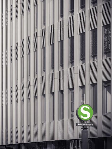 Architekturfotografie: Berlin - Spreedreieck / Friedrichstrasse