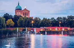 Berlin – Engelbecken Pond / St. Michael's Church