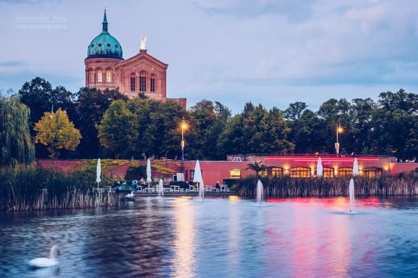 Berlin - Engelbecken / St. Michael-Kirche