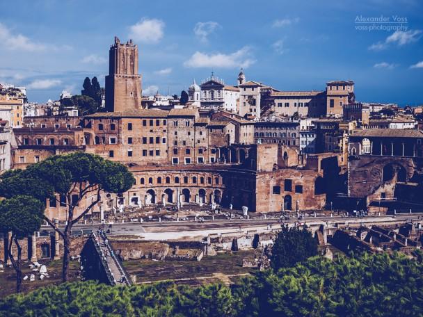 Rom - Trajansforum / Torre delle Milizie